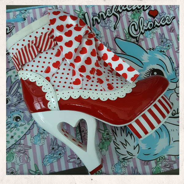 irregular choice rosie with love ankle boot