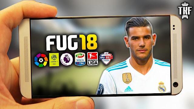تحميل لعبة كرة القدم fug5 مجاناً للاندرويد 2018