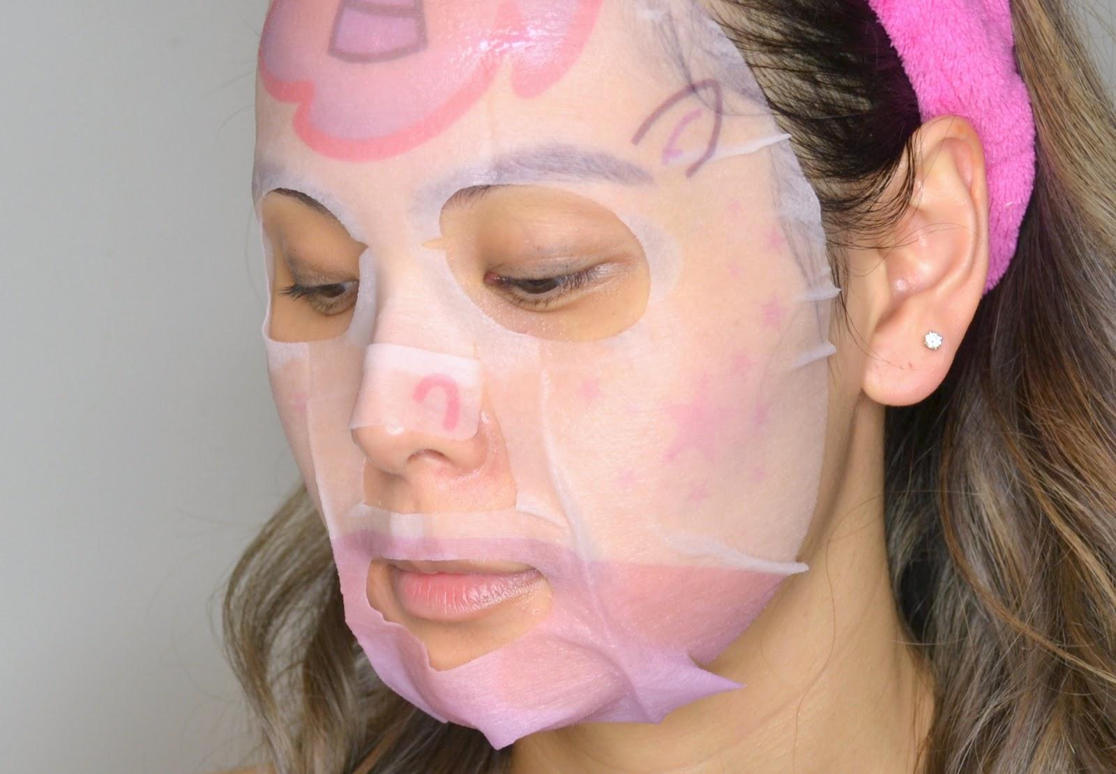 KBEAUTY | The Creme Shop Glow Up Skin Unicorn Face Mask