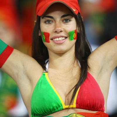 World Cup Brazil 2014: sexy hot girls football fan, beautiful woman supporter of the world. Pretty amateur girls, pics and photos   Portugal garota portuguesas