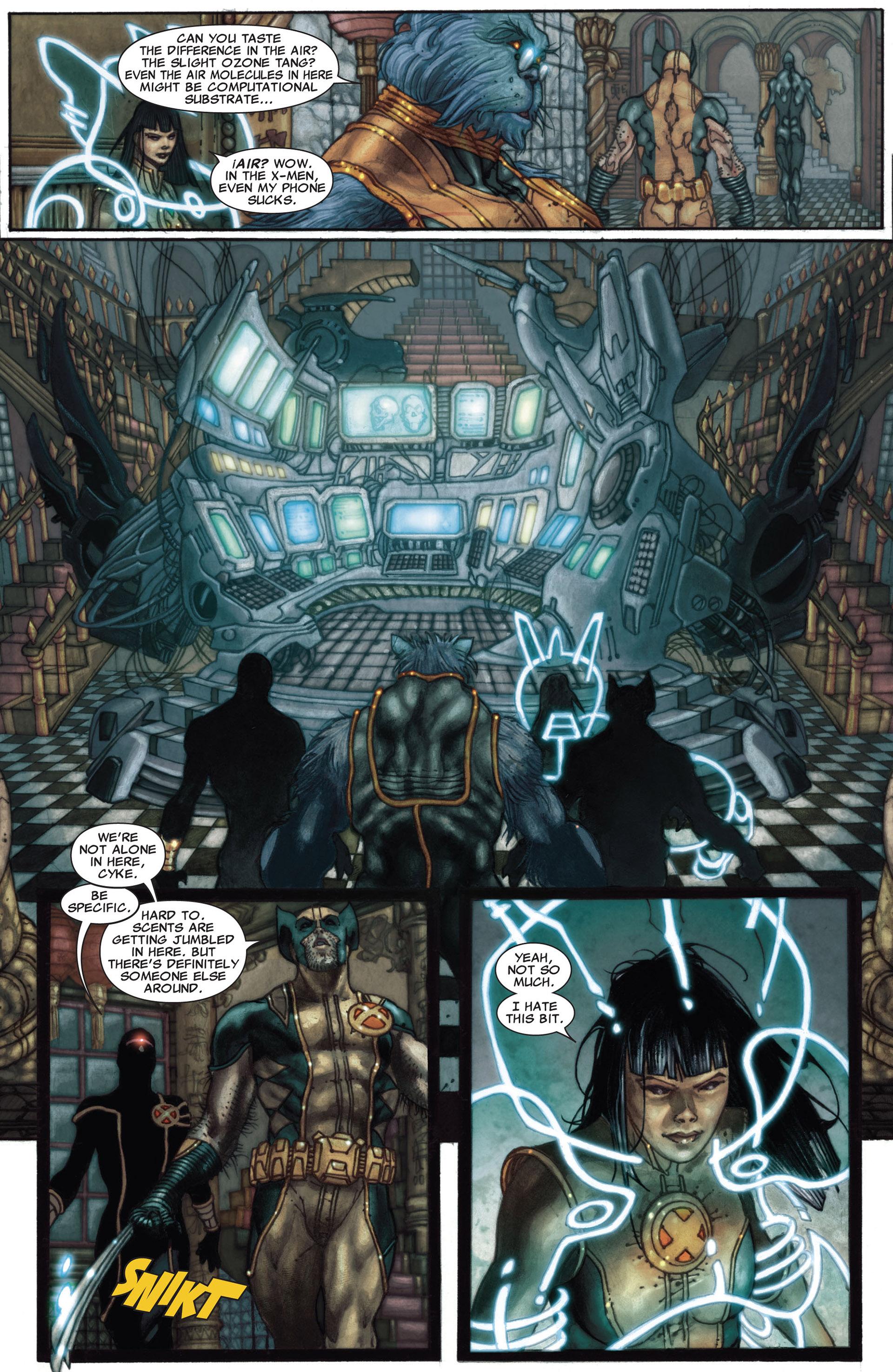 Read online Astonishing X-Men (2004) comic -  Issue #27 - 21