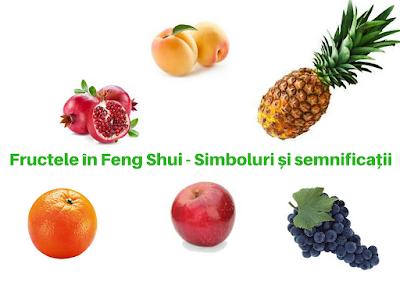 Fructele în Feng Shui simboluri