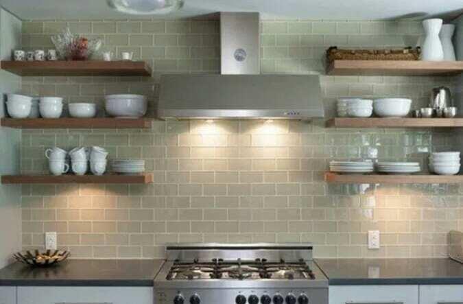 Contoh Gambar Desain Dapur Kecil Tanpa Kitchen Set
