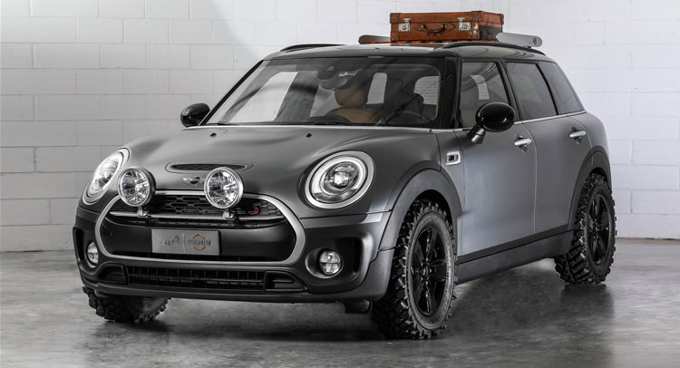 new mini clubman concept is a scrambler on all4s. Black Bedroom Furniture Sets. Home Design Ideas