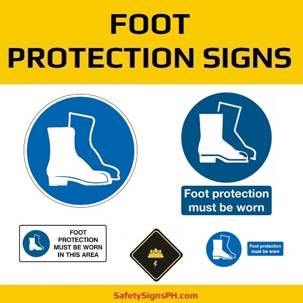 Foot Protection Signs Philippines