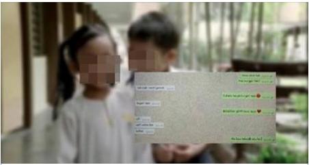 Astaghfirullah, Percakapan Dewasa di Whatsapp Bocah 9 Tahun Ini Bikin Kalian Geleng-Geleng Kepala