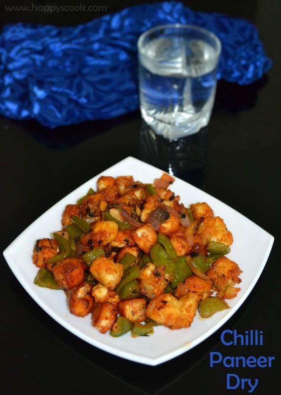 Chilli Paneer Dry Recipe | Paneer Recipes | Happy's Cook