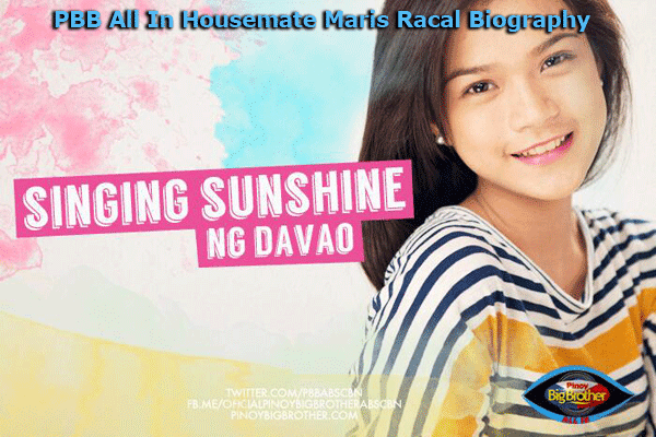 PBB All In Housemate Maris Racal Biography