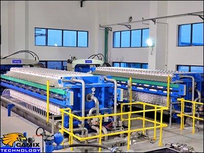 Công ty tư vấn mua sắm đầu tư thiết bị xử lý nước thải nhà máy chế biến thủy sản - Ứng dụng máy ép bùn