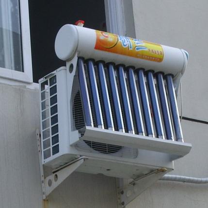 التكييف بالطاقة الشمسية الهجين