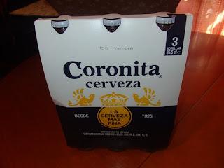 Coronita cerveza AB INBEV