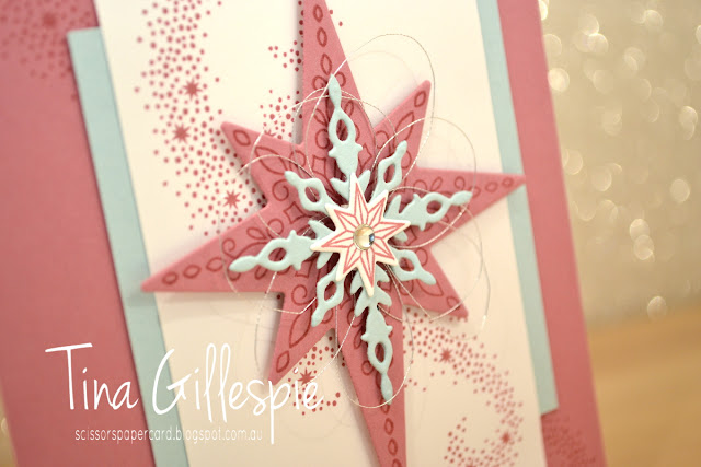 scissorspapercard, Stampin' Up!, Star Of Light, Starlight Thinlits