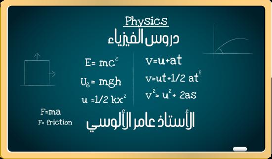 دروس الفيزياء : الفصل الأول المتسعات الدرس السابع والأخير الأستاذ عامر الألوسي