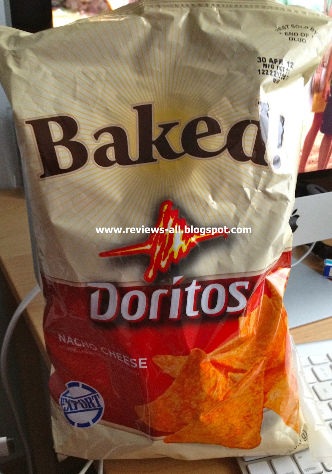 we'll tell you - a&w couple's blog: baked doritos - nacho cheese
