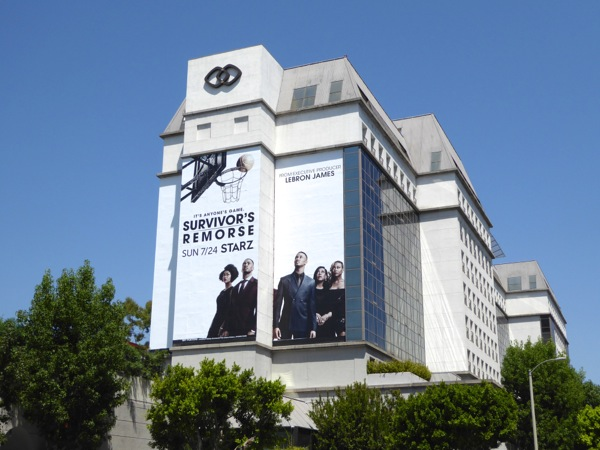Giant Survivors Remorse season 3 billboard