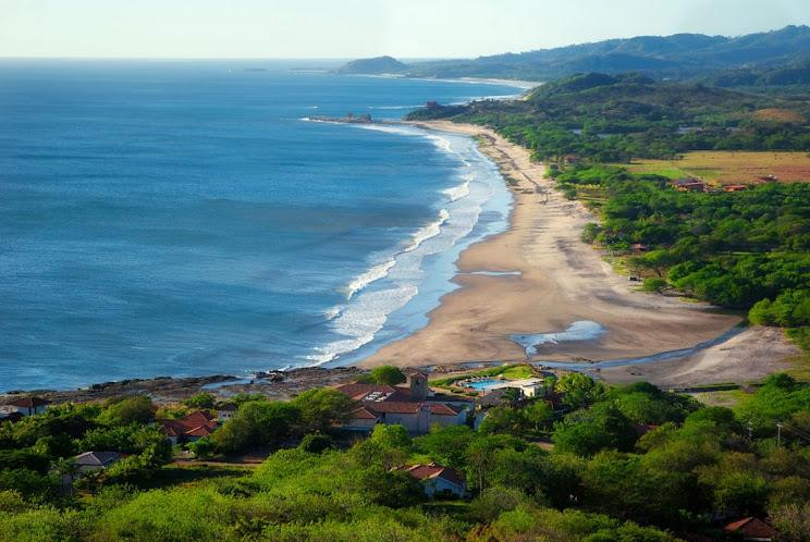 surfing playa santana beach nicaragua