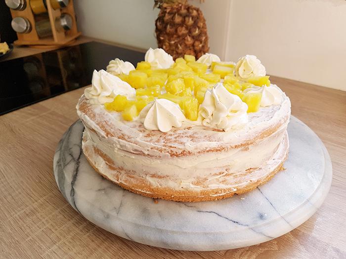 NUDE CAKE NAKED CAKE ANANAS BLOG NIMES NIMOISE 10