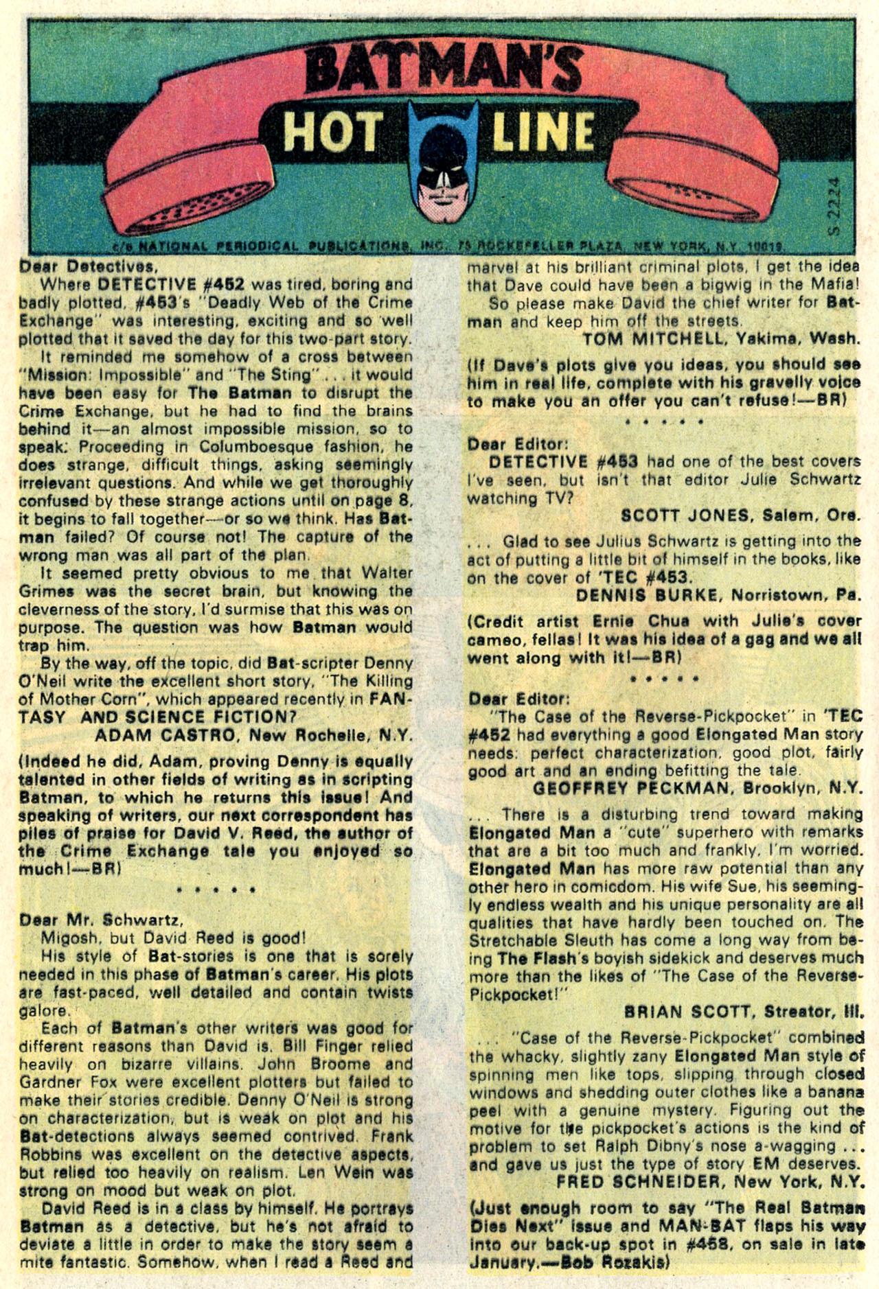 Detective Comics (1937) 457 Page 11