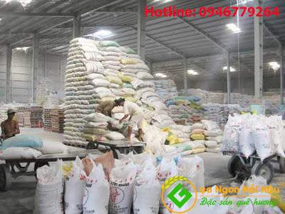 Quy trình bảo quản và đóng gói gạo Hải Hậu