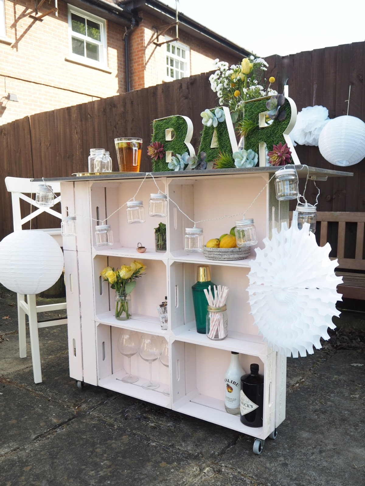 Outdoor Bar Diy With Hobbycraft Dove Cottage