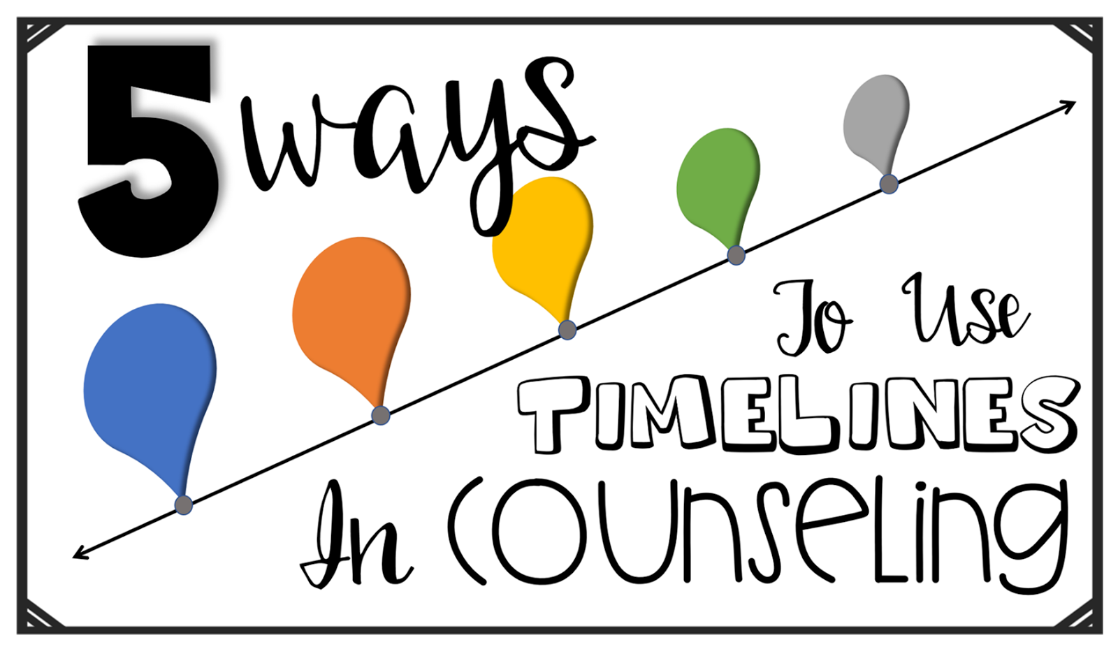 5 Ways To Use Timelines in Counseling - The Middle School