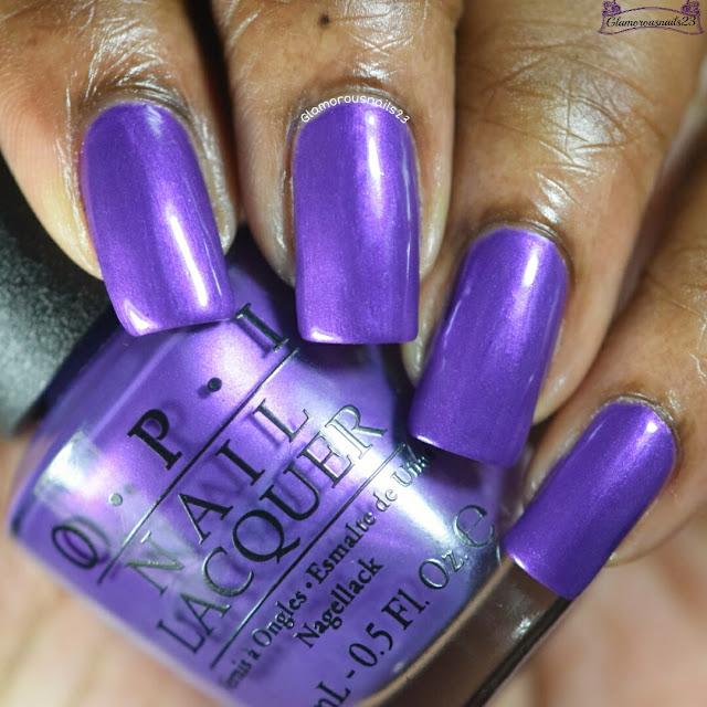 O.P.I Purple With A Purpose