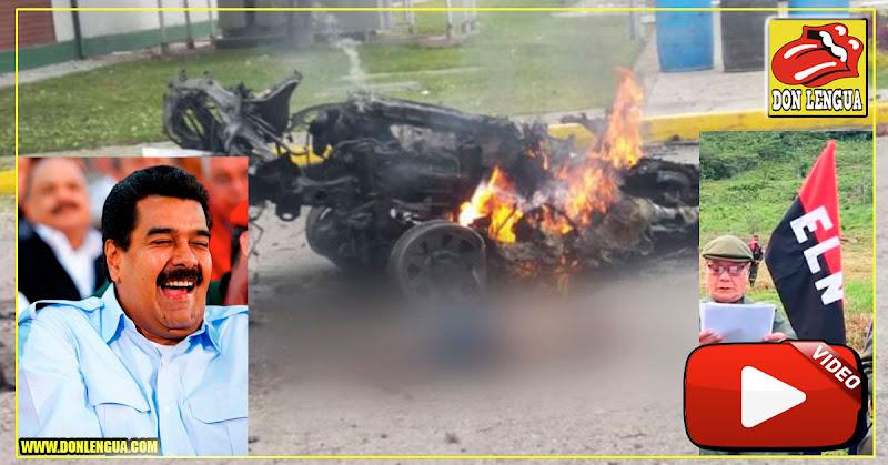Todo apunta al ELN y a Nicolás Maduro tras explosión de un carro bomba en Bogotá