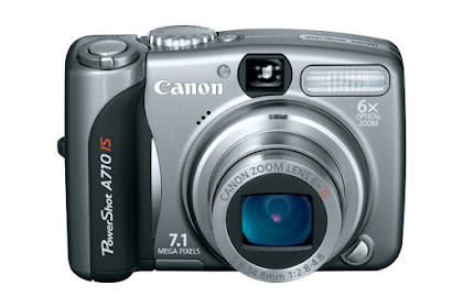 Canon PowerShot A710 IS Driver Download Windows, Mac