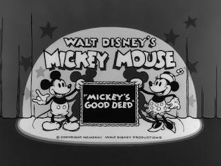 La buena obra de Mickey (1932)