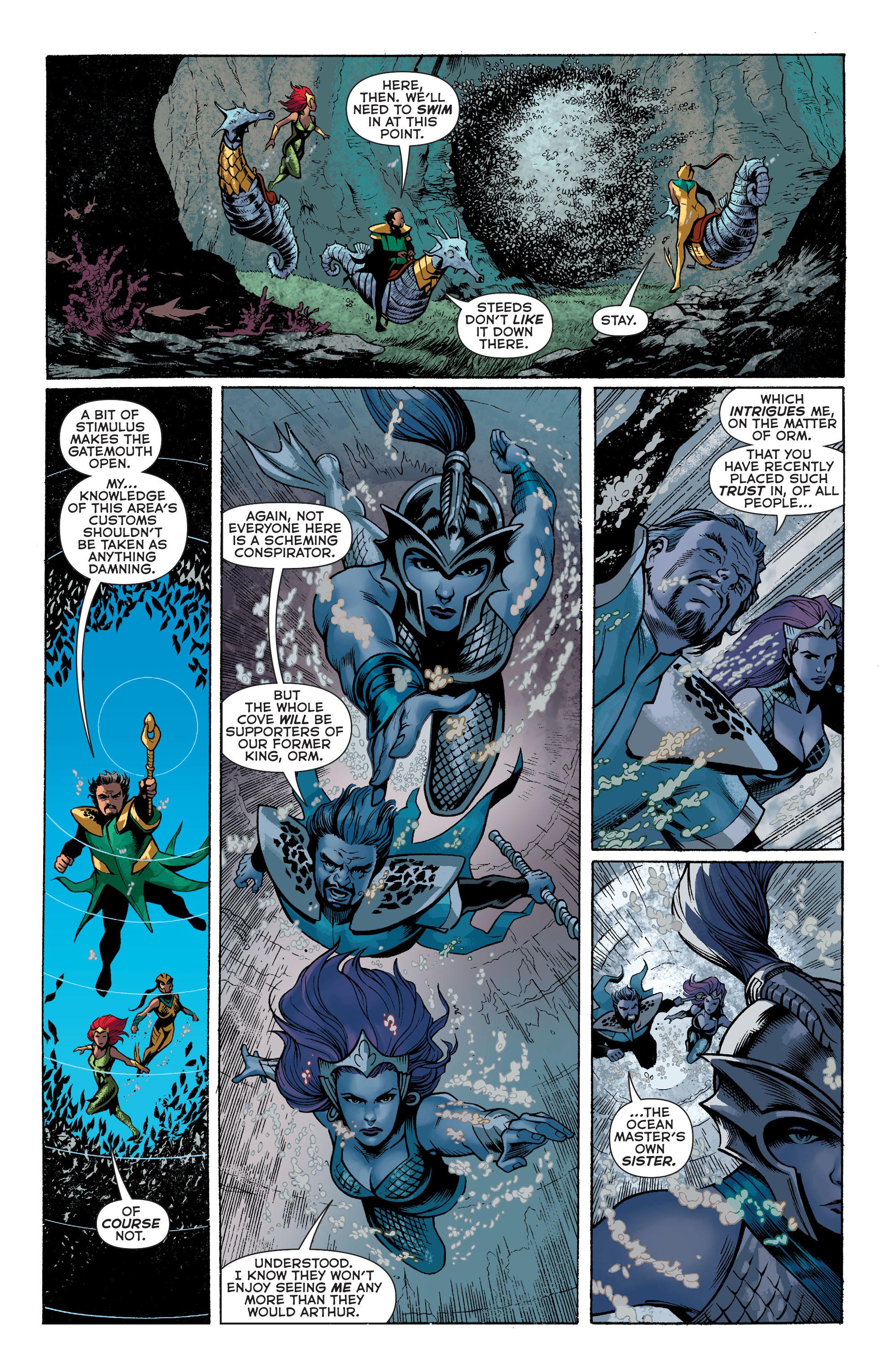 Read online Aquaman (2011) comic -  Issue #31 - 10