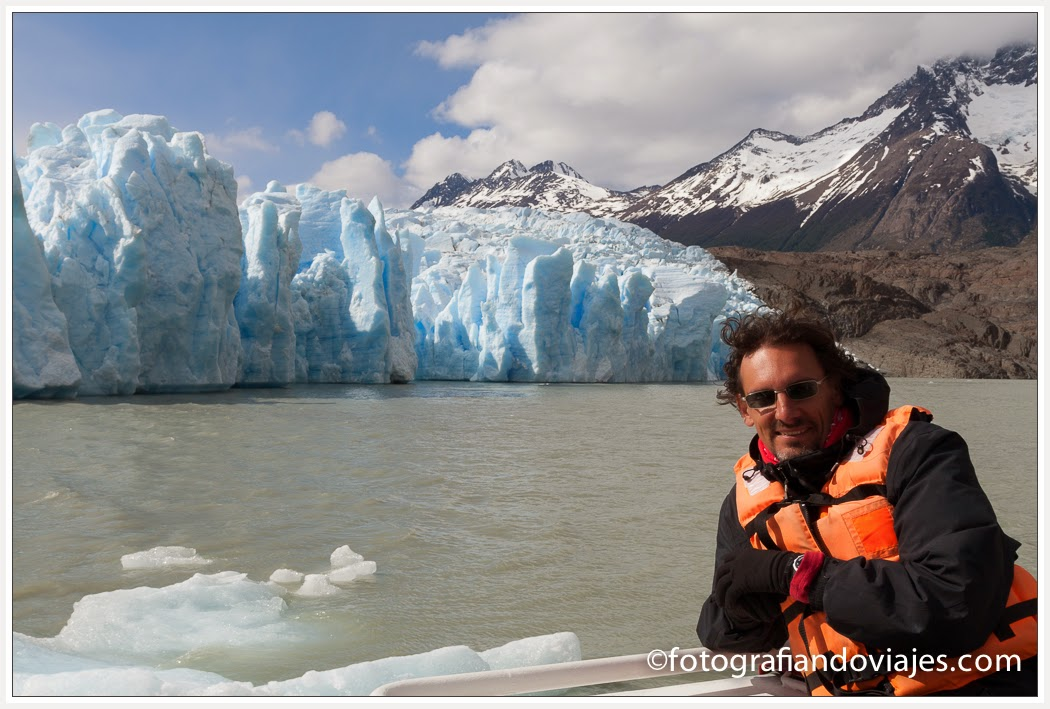 Glaciar Grey Torres del Paine Chile