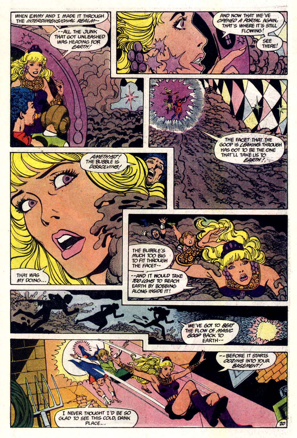 Read online Amethyst (1985) comic -  Issue #5 - 21