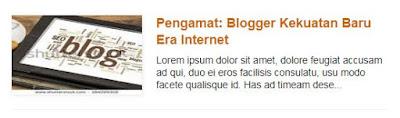 Auto Read More Blogger