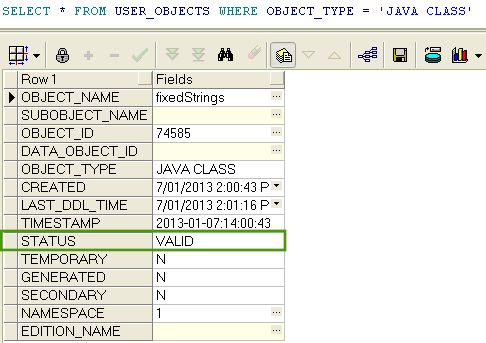 Write Java Stored Procedure / Function - Oracle Example | ThinkTibits!