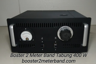 Boster 2 Meter Band VHF Tabung 400 W Lengkap dengan Power Supply