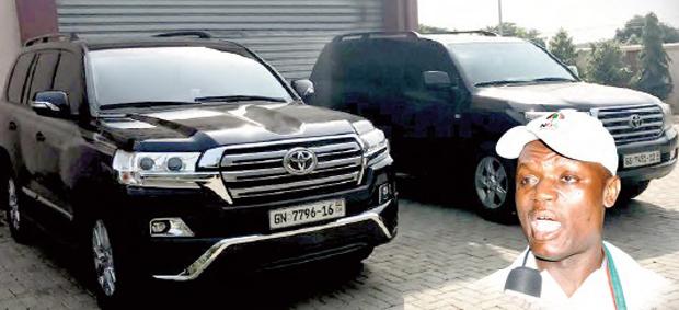New Twist Over Kofi Adams 'Stolen Cars'