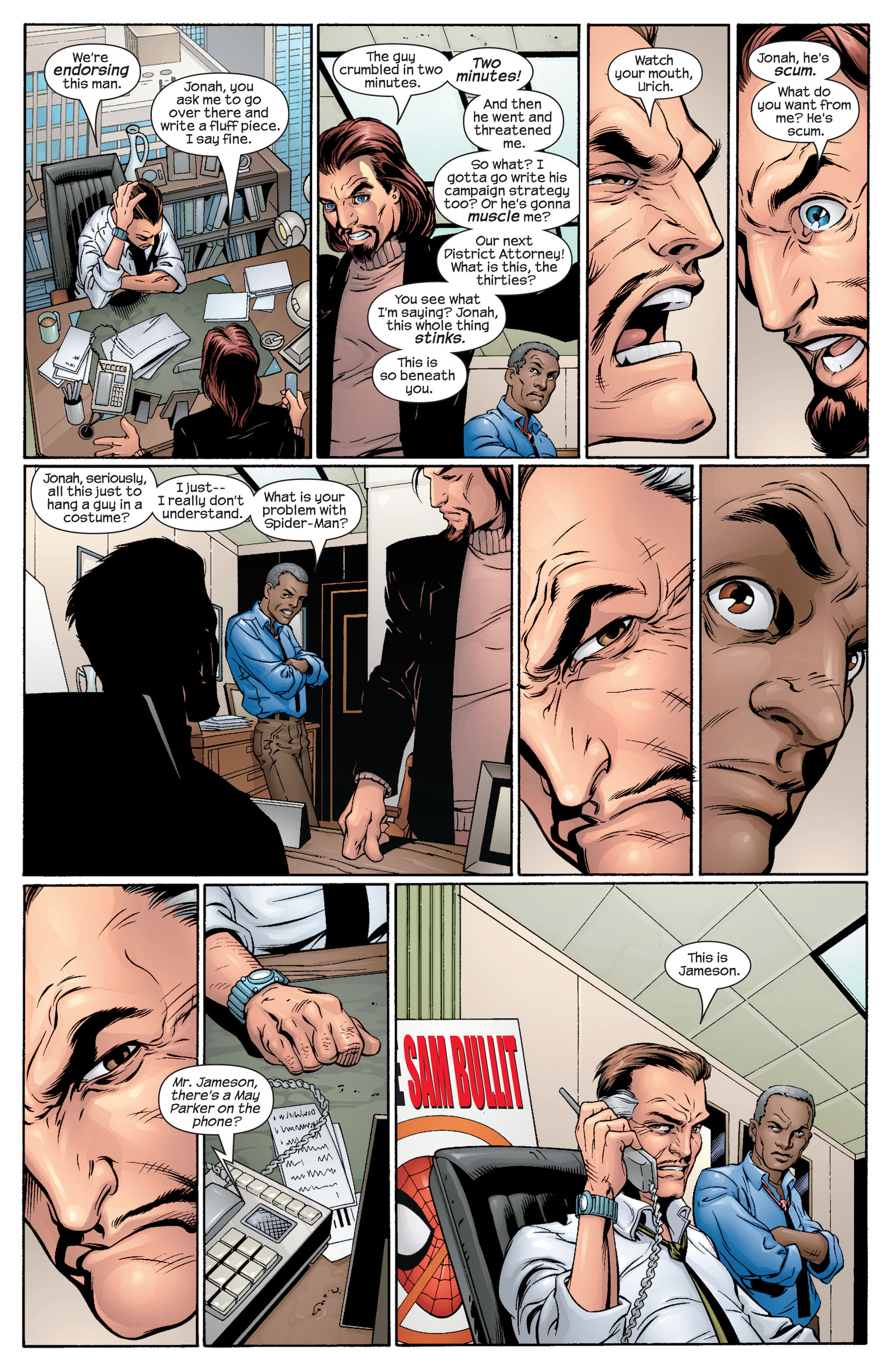 Read online Ultimate Spider-Man (2000) comic -  Issue #48 - 21
