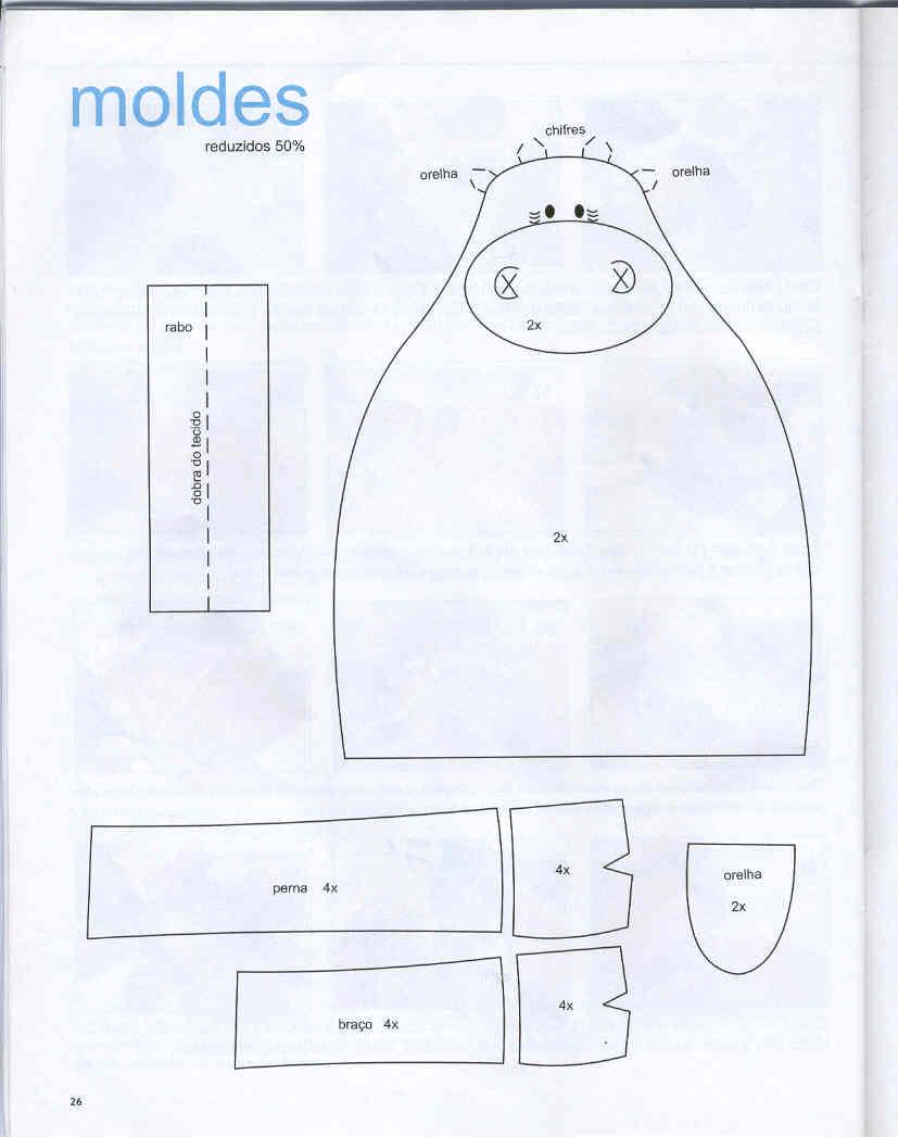 pag.+23 - molde vaca de tecido
