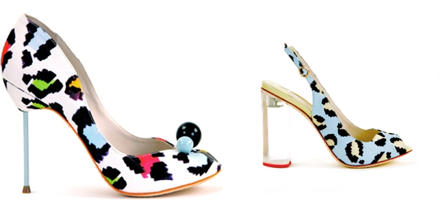 Sophia Webster animal print shoes