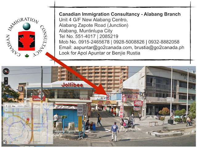 Canadian Immigration Consultancy - Alabang Branch