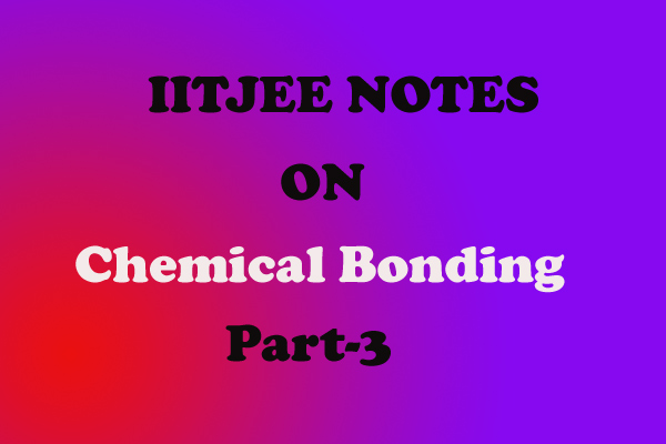 Chemical-Bonding Notes