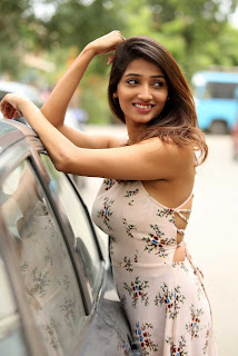 Priya Vadlamani in Backless sleeveless gown Spicy Pics