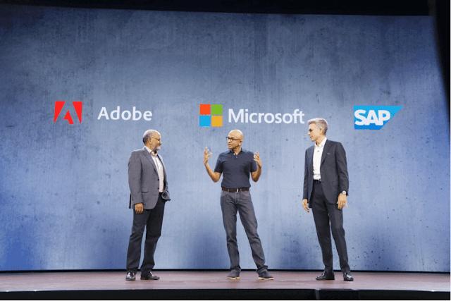 Microsoft, Adobe, and SAP introduced Open Data Initiative