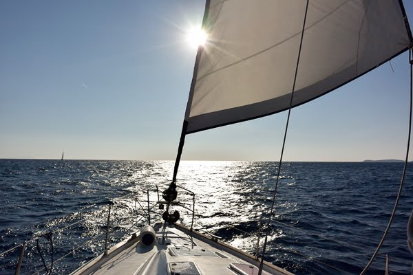 Segeln zu den Griechischen Inseln