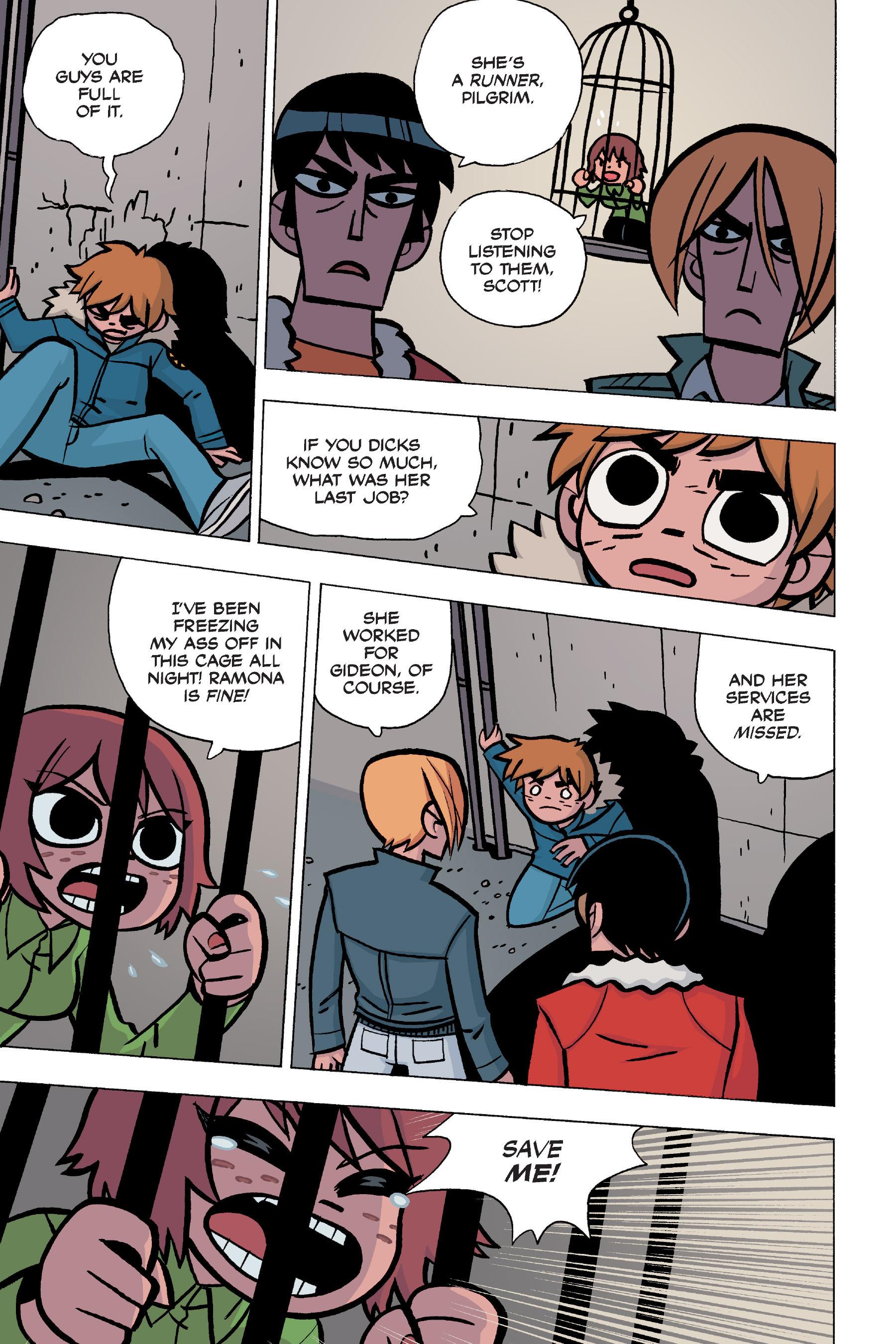 Read online Scott Pilgrim comic -  Issue #5 - 125