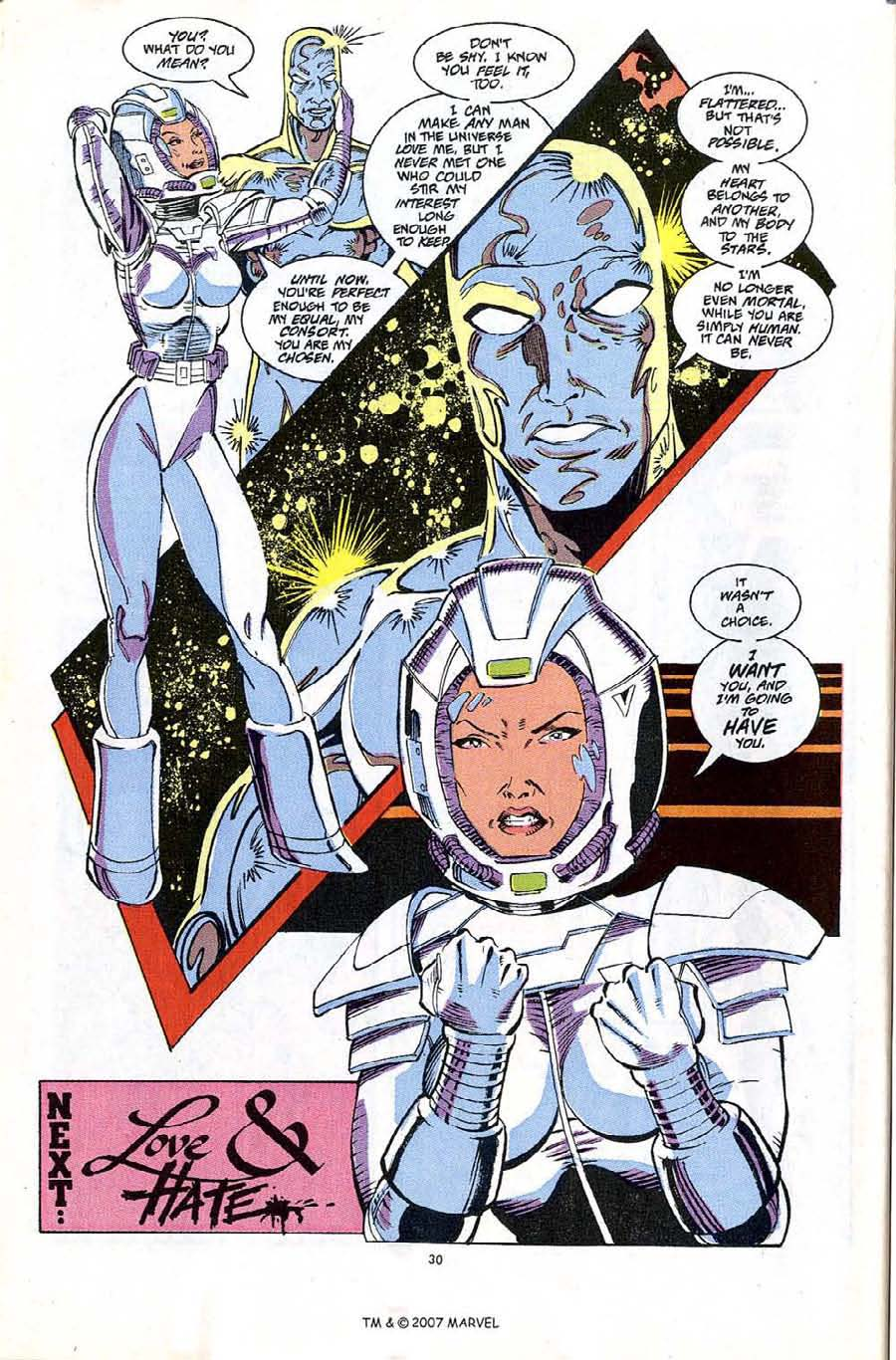 Read online Silver Surfer (1987) comic -  Issue #65 - 32