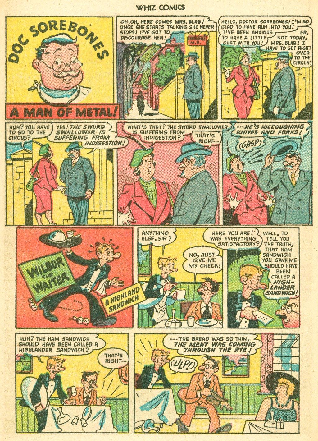 WHIZ Comics #155 #156 - English 28