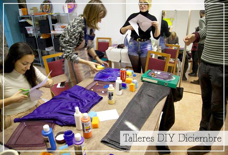 Talleres DIY Diciembre