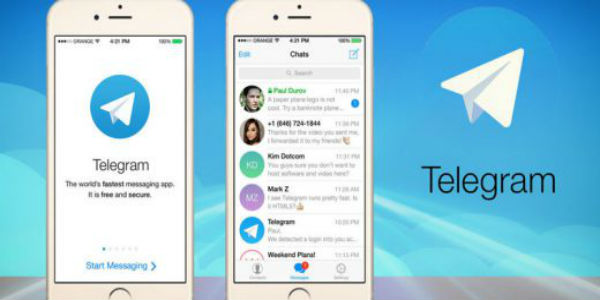 Telegram-Fastest Messaging App for android iOS mobiles-600x300