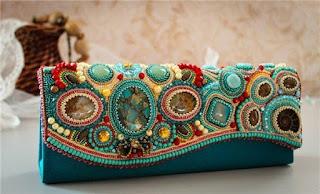 фото сумок бисера